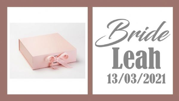 Bride Large Luxury Personalised Gift Box